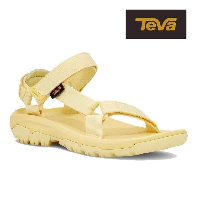 【TEVA】原廠貨 女 Hurricane XLT2 機能運動涼鞋/雨鞋/水鞋(檸檬黃-TV1019235LEMA)