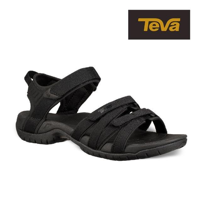 【TEVA】原廠貨 女 Tirra 水陸多功能運動涼鞋/雨鞋/水鞋(黑色-TV4266BKBK)