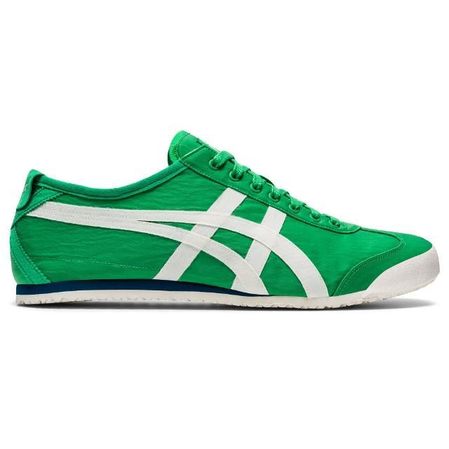 【Onitsuka Tiger】鬼塚虎 官方旗艦店 MEXICO 66 休閒鞋 綠色(1183A845-300)