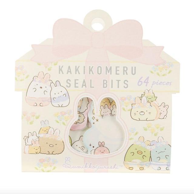 【San-X】角落生物 兔子花園系列 散裝貼紙便箋(角落小夥伴)