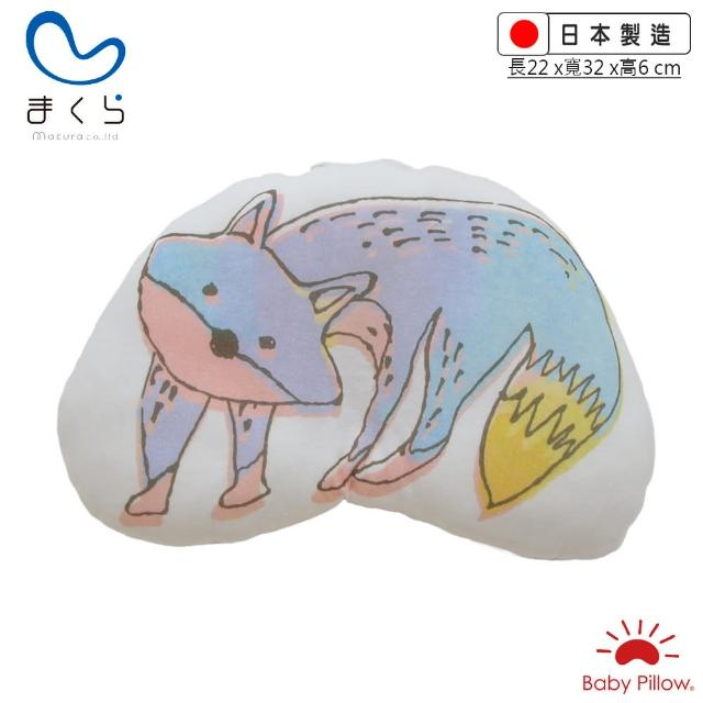 【MAKURA【Baby Pillow】】Zzzoo嬰兒抱枕/靠枕-狐狸(makura授乳枕 嬰兒枕午睡枕 臂圈枕 推車枕 王 樣)