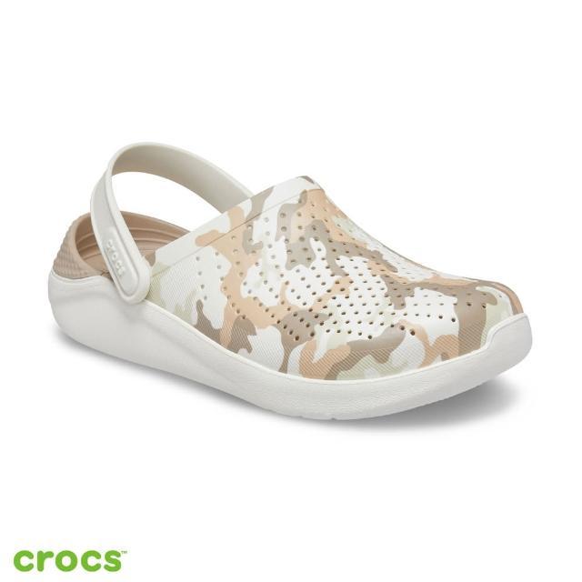 【Crocs】中性鞋 LiteRide迷彩印花克駱格(206491-1CN)