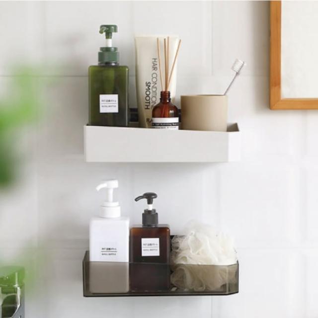 【品川製物】浴室置物架(免釘無痕壁掛式置物架)