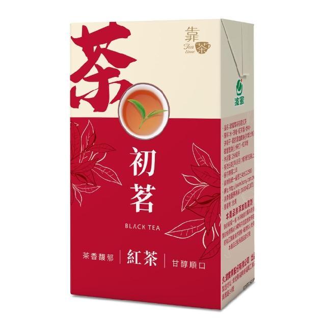 【波蜜】靠茶初茗紅茶250ml(24入/箱)