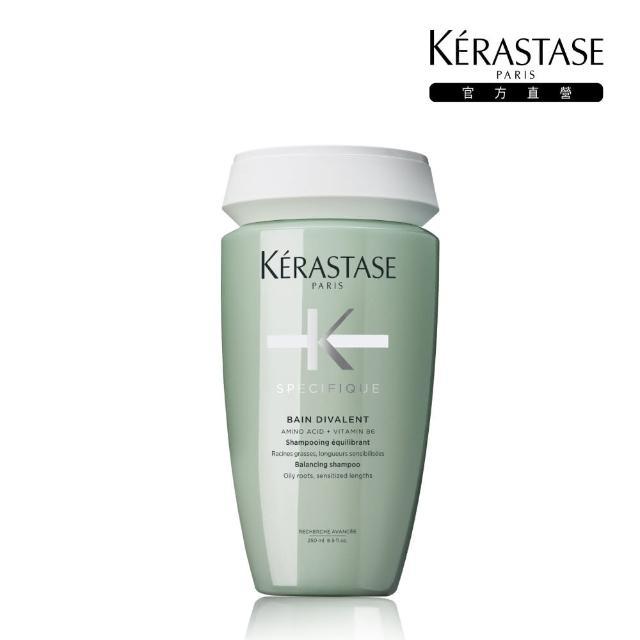 【KERASTASE 巴黎卡詩】胺基酸平衡舒緩髮浴250ml(深層潔淨)