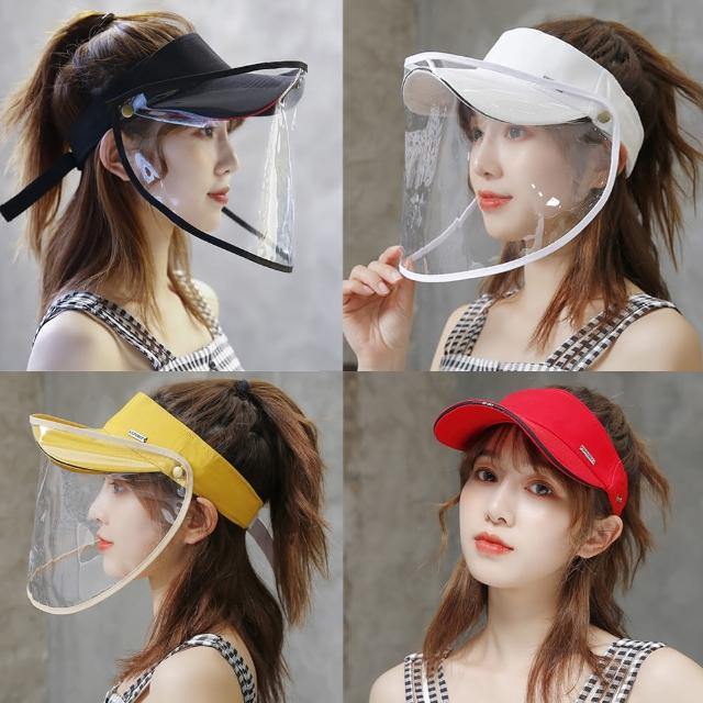 【A3】可拆帽夏遮陽防紫外線防護目帽(舒適防護多功能)