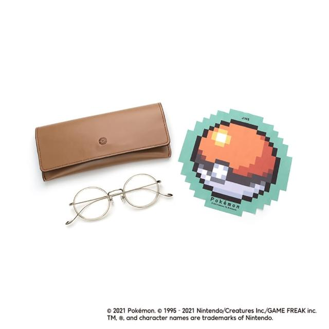 【JINS】Pokemon 寶可夢聯名眼鏡-夢幻款(AURF21S151)