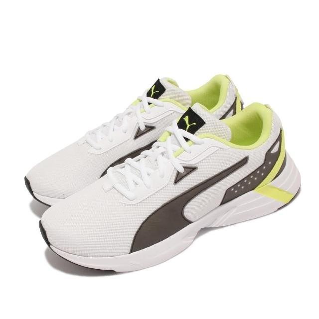 【PUMA】慢跑鞋 Space Runner 運動 男鞋 透氣 網布 基本款 百搭 輕量 舒適 白 黑(193723-02)