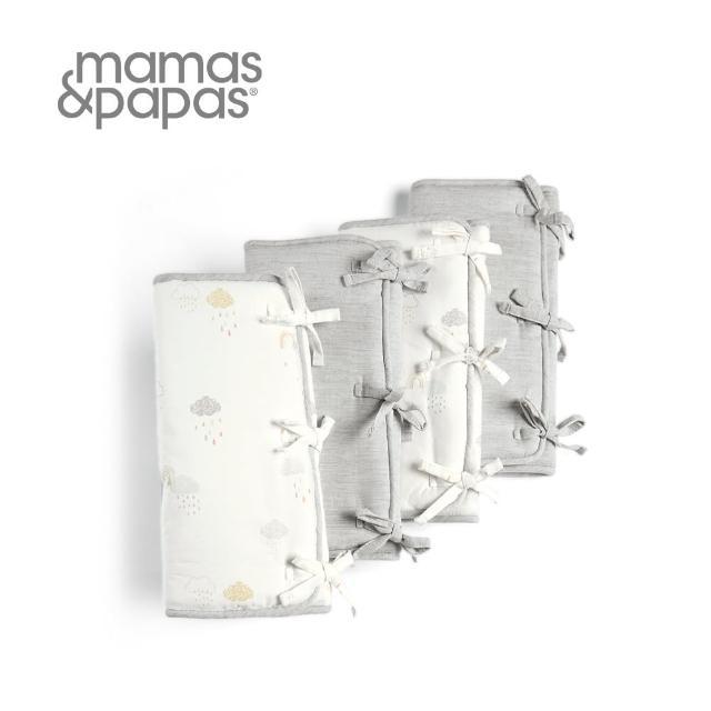 【Mamas & Papas】彩虹發酵-綁帶床圍(8入)