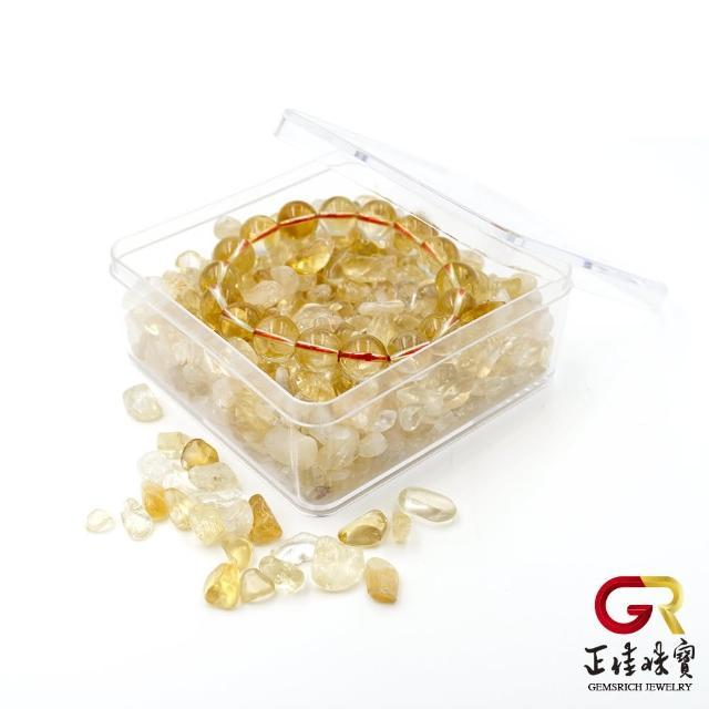 【正佳珠寶】黃水晶 消磁淨化水晶方盒(招財能量寶石)