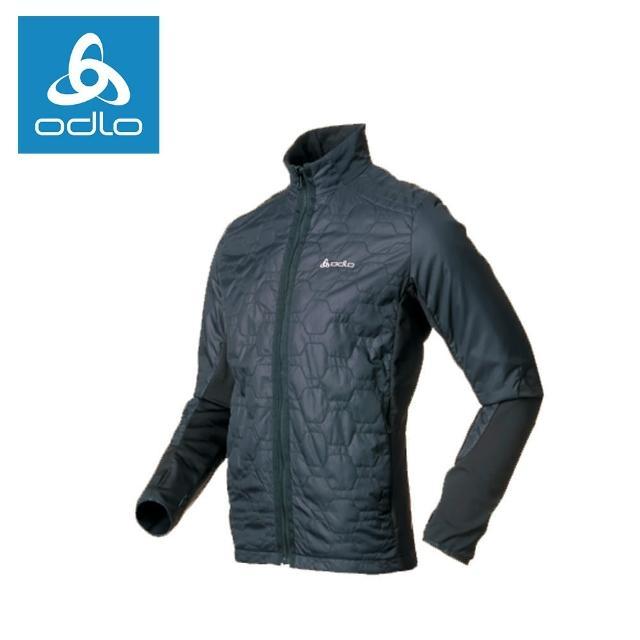 【ODLO】男Primaloft彈性保暖外套522476-黑15001