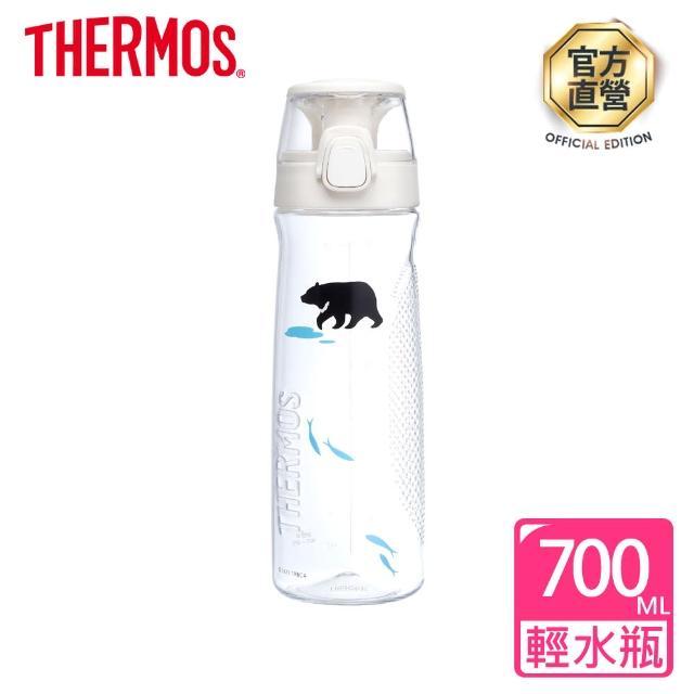 【THERMOS 膳魔師】台灣黑熊彈蓋隨手瓶700ml(TCSD-700TBB-TS)