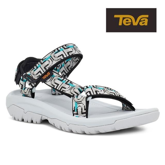 【TEVA】原廠貨 女 Hurricane XLT2 機能運動涼鞋/雨鞋/水鞋(冰河灰-TV1019235NGLG)