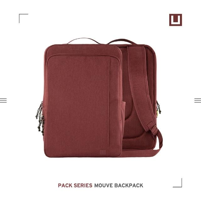 【UAG】(U)輕量筆電後背包-紫紅(U by UAG)
