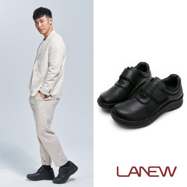 La new【La new】DOUBLE AIR 氮氣墊 抑菌手縫休閒鞋(男31270102)