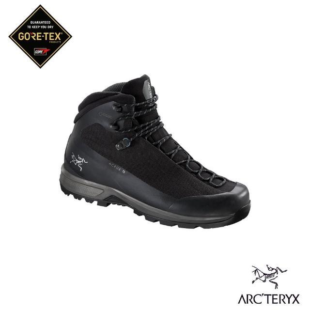 【Arcteryx 始祖鳥】男 Acrux TR Gore-tex 登山鞋(黑/海王星)