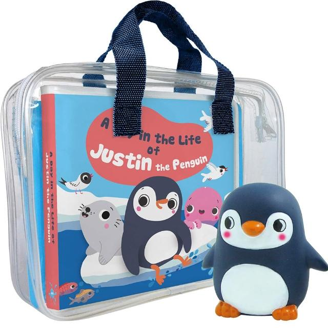 【Song Baby】A Day InThe Life Of Justin The Penguin 企鵝賈斯汀的一天(洗澡書)