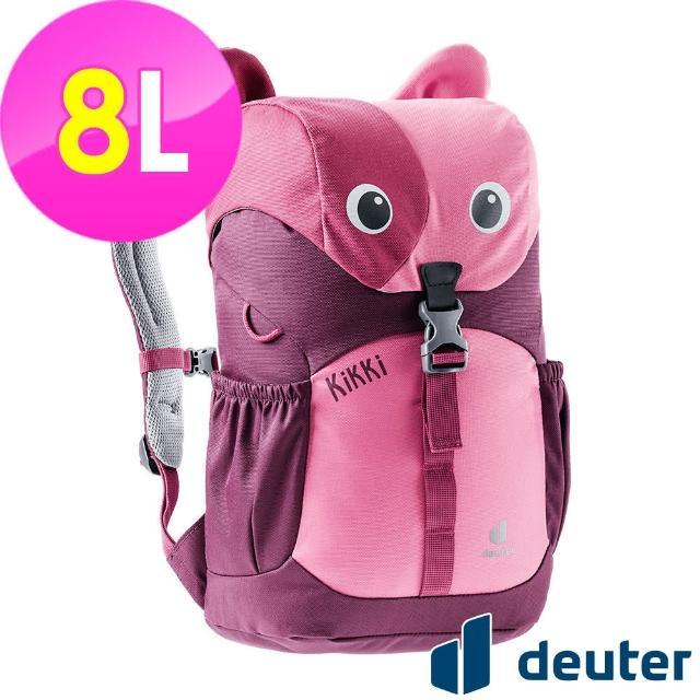 【ATUNAS 歐都納】可愛造型貓咪kikki兒童背包8L(3610421紅/暗紅/休閒書包/戶外旅遊包/動物背包)