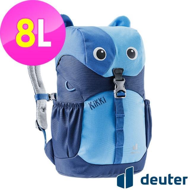 【ATUNAS 歐都納】可愛造型貓咪kikki兒童背包8L(3610421藍/深藍/休閒書包/戶外旅遊包/動物背包)