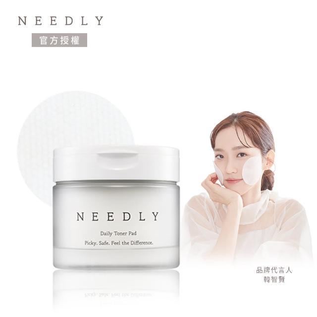 【NEEDLY】NEEDLY 每日調理清透爽膚棉 60片(簡便毛孔管理 BHA&PHA 溫和去角質 韓國原裝)