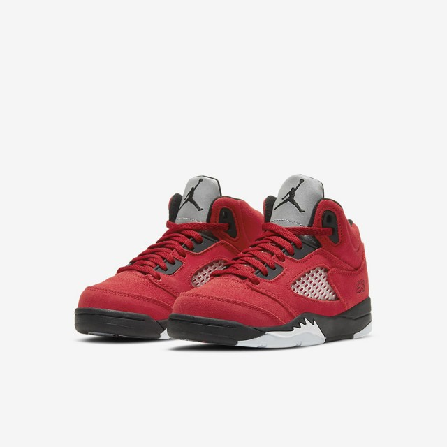 【NIKE 耐吉】JORDAN 5 RETRO 男女大童 籃球鞋 紅(440889600)