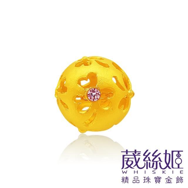 【葳絲姬金飾】9999純黃金墜 幸福-0.74錢±3厘