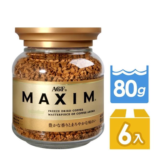 【AGF】箴言金咖啡-80g(x6罐組)