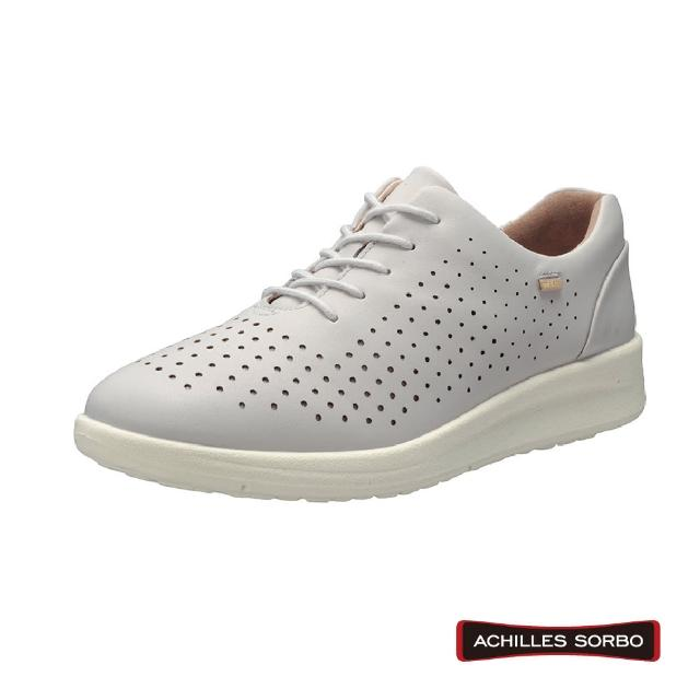 【A.S.O 阿瘦集團】ACHILLES SORBO 雷射沖孔造型足底筋膜舒緩健康鞋-ASC4940(灰)