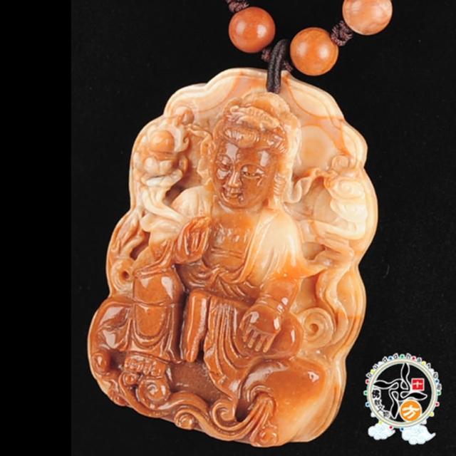 【十方佛教文物】自在觀音極品龍宮舍利項鍊A(大悲咒加持108遍以上)