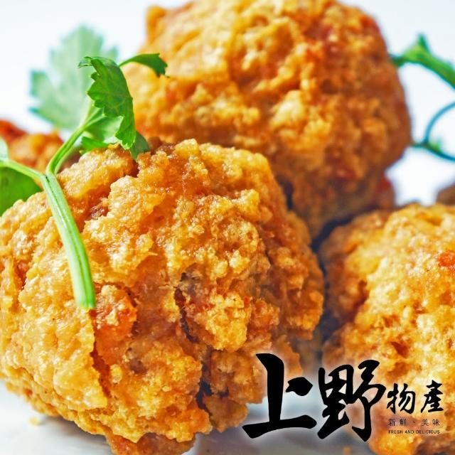 【上野物產】滑嫩紮實 鴨肉風味丸 x10包(200g±10%/約18顆/包)