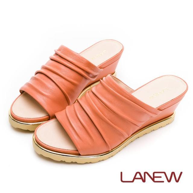 【La new】輕量楔型鞋 拖鞋(女57270837)