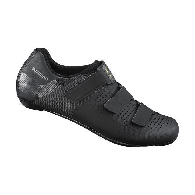 【SHIMANO】RC100 男款性能型公路車鞋 標準楦 黑色