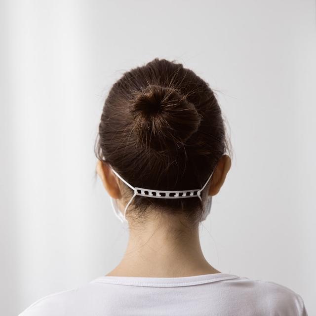 【PCARE】口罩減壓掛勾20入(口罩延長帶/減緩耳朵勒緊/極。輕。薄)