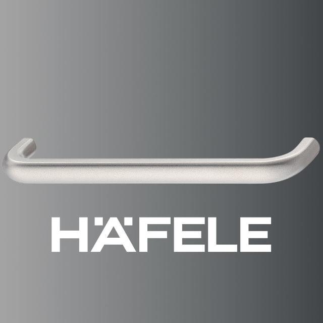 【Hafele 德國海福樂】家具把手弧形 104mm(泰國DIY包裝套組)