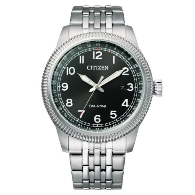 【CITIZEN 星辰】GENTS系列 光動能時尚腕錶(BM7480-81E)