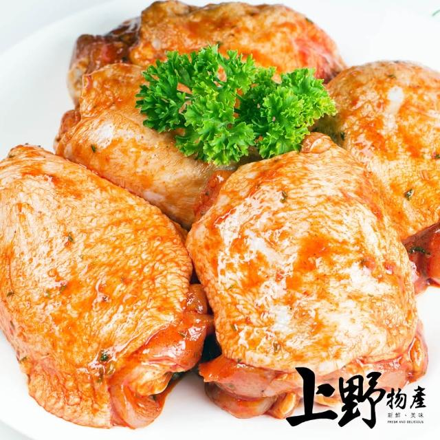【上野物產】開胃下飯 椒麻雞腿排 x10片(100g±10%/片)
