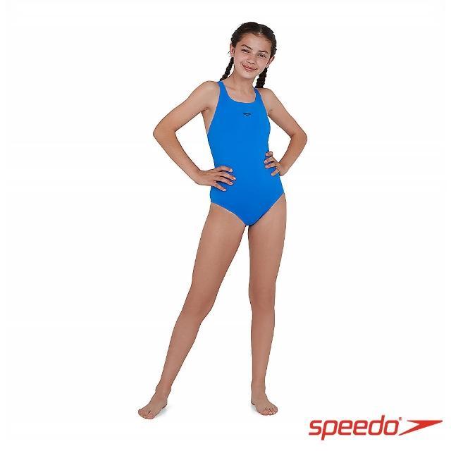 【SPEEDO】女孩 運動連身泳裝 Endurance+(邦代藍)