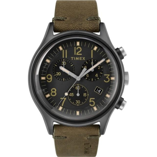 【TIMEX】沙漠風暴計時皮帶腕錶(TW2R96600)