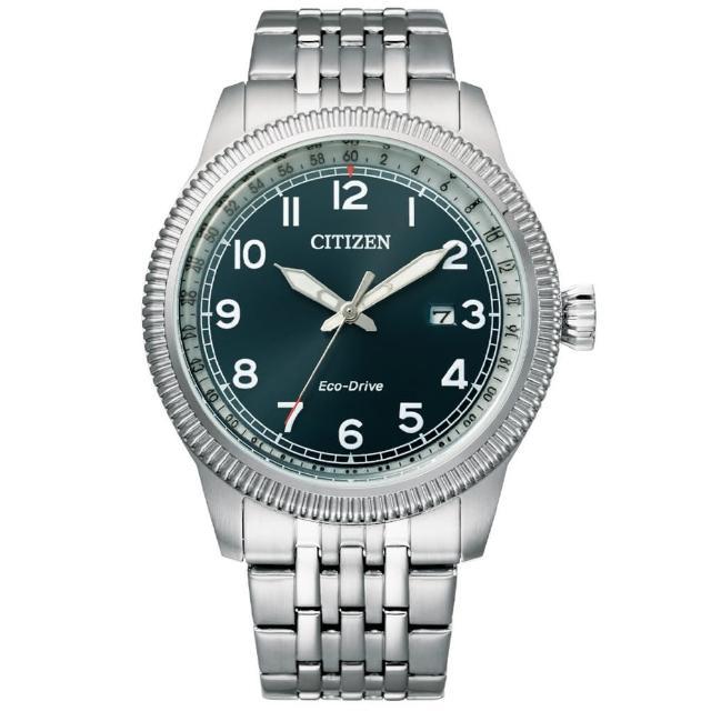 【CITIZEN 星辰】GENTS光動能男士鋼帶錶42.5mm(BM7480-81L)