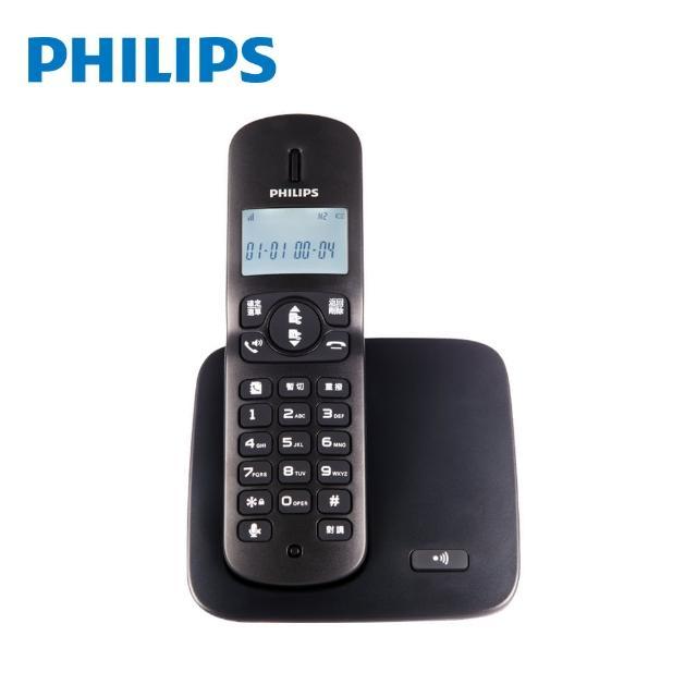 【Philips 飛利浦】福利品-2.4GHz數位無線電話(DCTG1861)