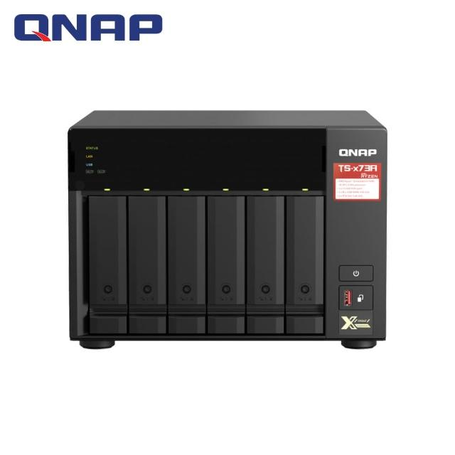 【QNAP 威聯通】TS-673A-8G 6Bay 網路儲存伺服器
