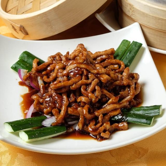 【上野物產】餡老滿 京醬肉絲 x4包(125g±10%/包)