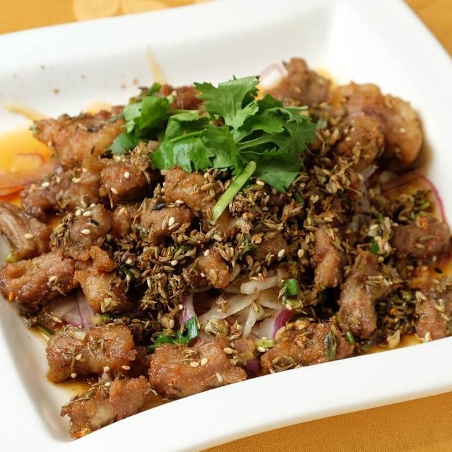 【上野物產】餡老滿 孜然羊肉 x3包(125g±10%/包)