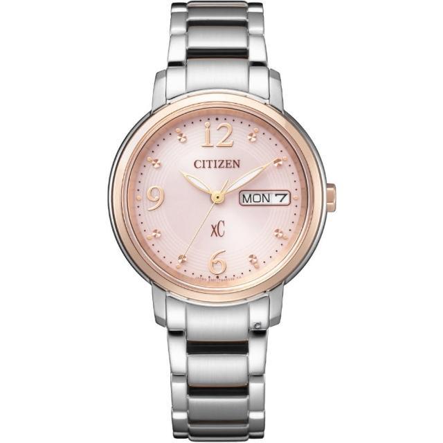 【CITIZEN 星辰】xC自信魅力光動能腕錶(EW2425-57W)