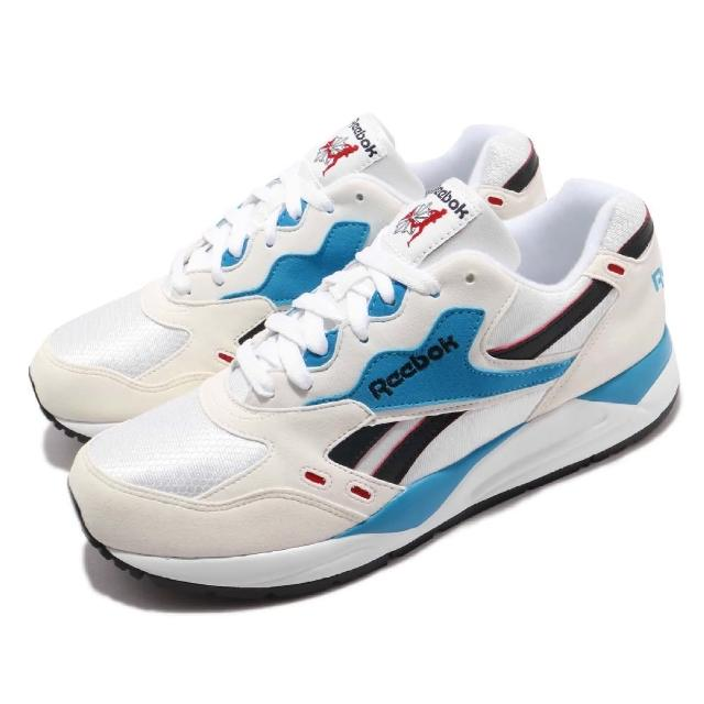 【REEBOK】休閒鞋 Bolton 低筒 運動 男鞋 經典款 球鞋 穿搭 復古 慢跑 米白 藍(M49098)