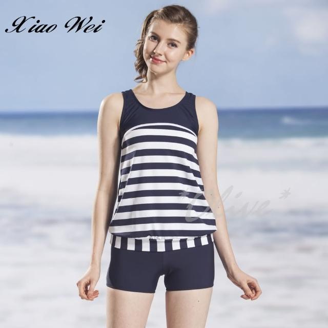 【小薇的店】時尚二件式泳裝(NO.22828-3L)