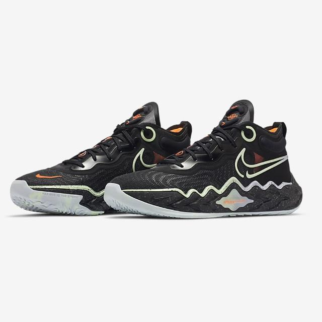 【NIKE 耐吉】籃球鞋 男鞋 女鞋 運動鞋 緩震 包覆 NIKE AIR ZOOM G.T. RUN EP 黑 DA7920-001
