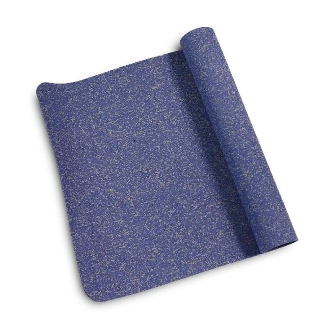 【NIKE 耐吉】瑜珈墊 Move Yoga Mat 男女款 皮拉提斯 拉筋 有氧 運動休閒 4mm 藍 灰(N100306193-5OS)
