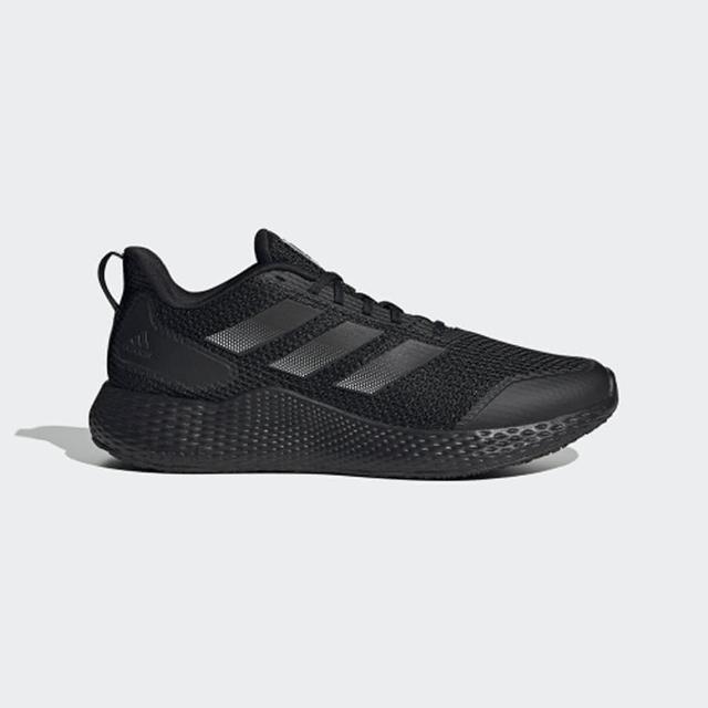 【adidas 愛迪達】慢跑鞋 男鞋 運動鞋 緩震 訓練 EDGE GAMEDAY 黑 GW2499
