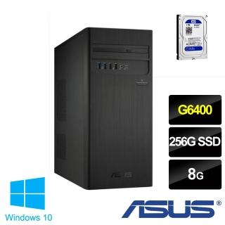 【ASUS升級+1TB SATA硬碟】華碩H-S300TA? G6400 雙核電腦(G6400/8G/256 SSD/W10)